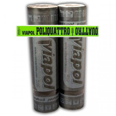VIAPOL POLIQUATTRO MINERAL MEMBRANA 4,5 KG PLASTOMERICA -5 °C