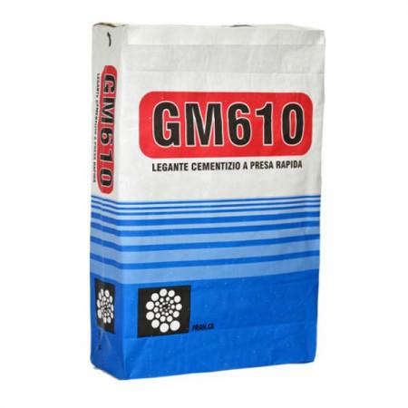 GM610 LEGANTE CEMENTIZIO ANTIRITIRO A PRESA RAPIDA