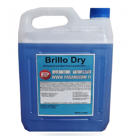 BRILLO DRY ADDITIVO BRILLANTANTE PER LAVASTOVIGLIE