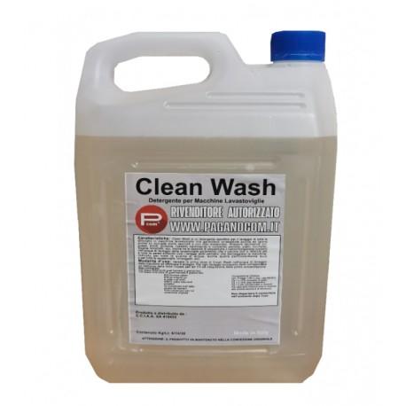 CLEAN WASH DETERGENTE LIQUIDO PER LAVASTOVIGLIE