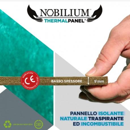 NOBILIUM THERMALPANEL ISOLAMENTO NATURALE A BASSO SPESSORE PER INTERNI ESTERNI